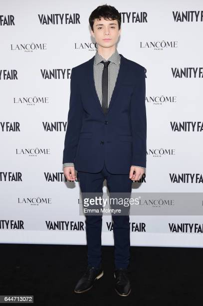 Actor Lucas Zumann attends Vanity Fair and Lancome Toast to The Hollywood Issue at Chateau Marmont on February 23 2017 in Los Angeles California