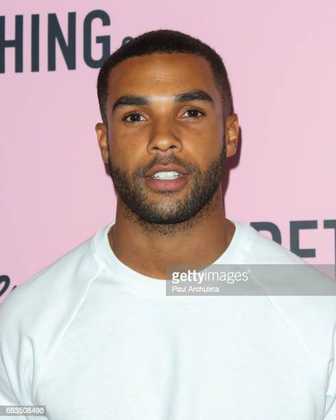 Actor Lucien Laviscount attends the 'PrettyLittleThing' campaign launch on April 11 2017 in Los Angeles California