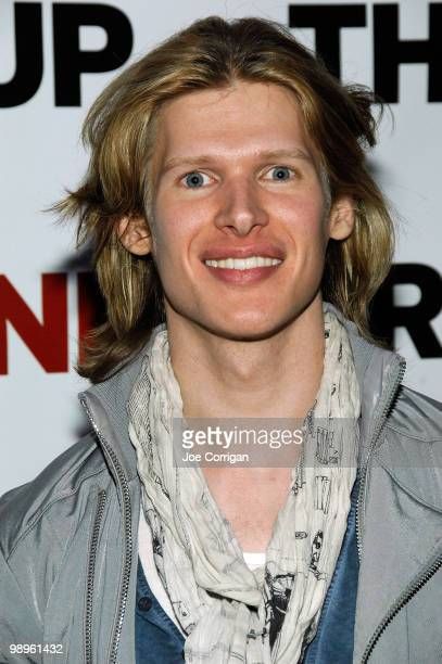Actor Lucus Steele attends at the OffBroadway opening night after party for 'The Kid' at Planet Hollywood Times Square on May 10 2010 in New York City