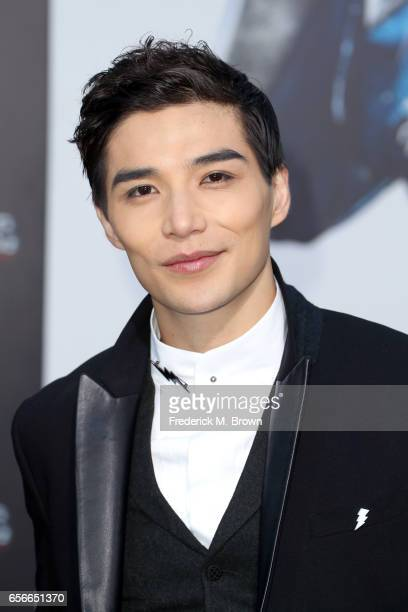 Actor Ludi Lin at the premiere of Lionsgate's 'Power Rangers' on March 22 2017 in Westwood California