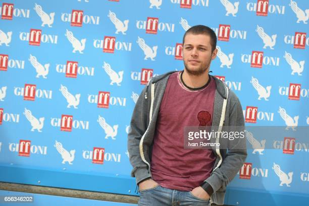 Actor Ludovico Tersigni attends a photocall after the movie preview of 'Slam Tutto per una ragazza' at the Cittadella del Cinema>> on March 21 2017...