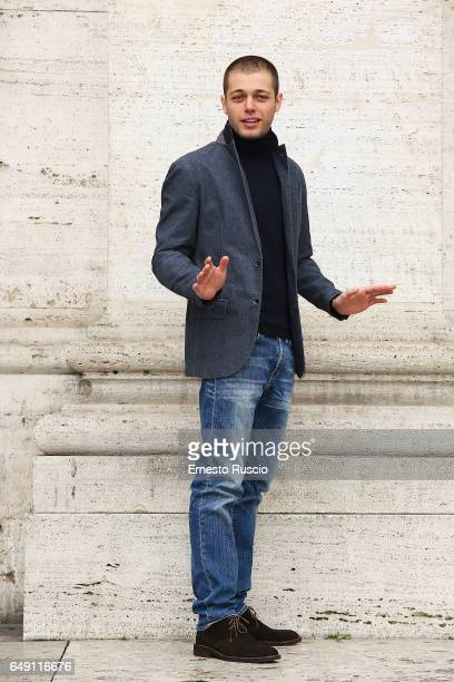 Actor Ludovico Tersigni attends a photocall for 'Slam Tutto Per Una Ragazza' at The Space Moderno on March 7 2017 in Rome Italy