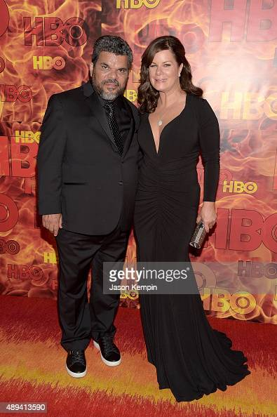 Actor Luis Guzman and Angelita GalarzaGuzman attend HBO's Official 2015 Emmy After Party at The Plaza at the Pacific Design Center on September 20...