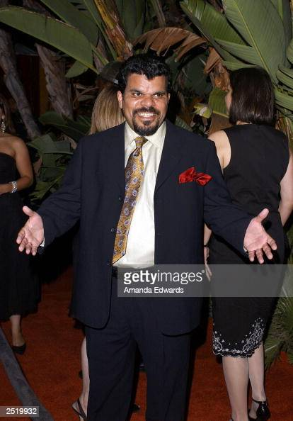 Actor Luis Guzman arrives at the Fox TV Emmy After Party at Mortons on September 21 2003 in West Hollywood California