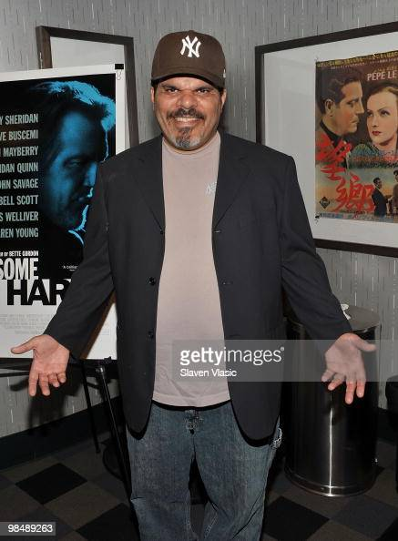 Actor Luis Guzman attends a special screening of 'Variety' at the IFC Center on April 15 2010 in New York City