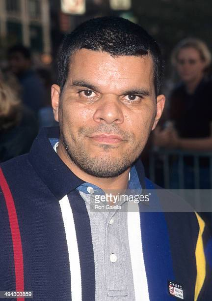 Actor Luis Guzman attends the 35th Annual New York Film Festival 'Boogie Nights' Screening on October 8 1997 at Alice Tully Hall Lincoln Center in...
