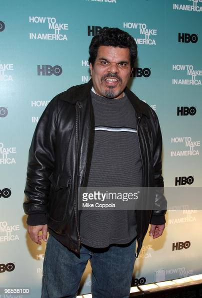 Actor Luis Guzman attends the Cinema Society and HBO screening of 'How to Make it in America' at Landmark's Sunshine Cinema on February 9 2010 in New...
