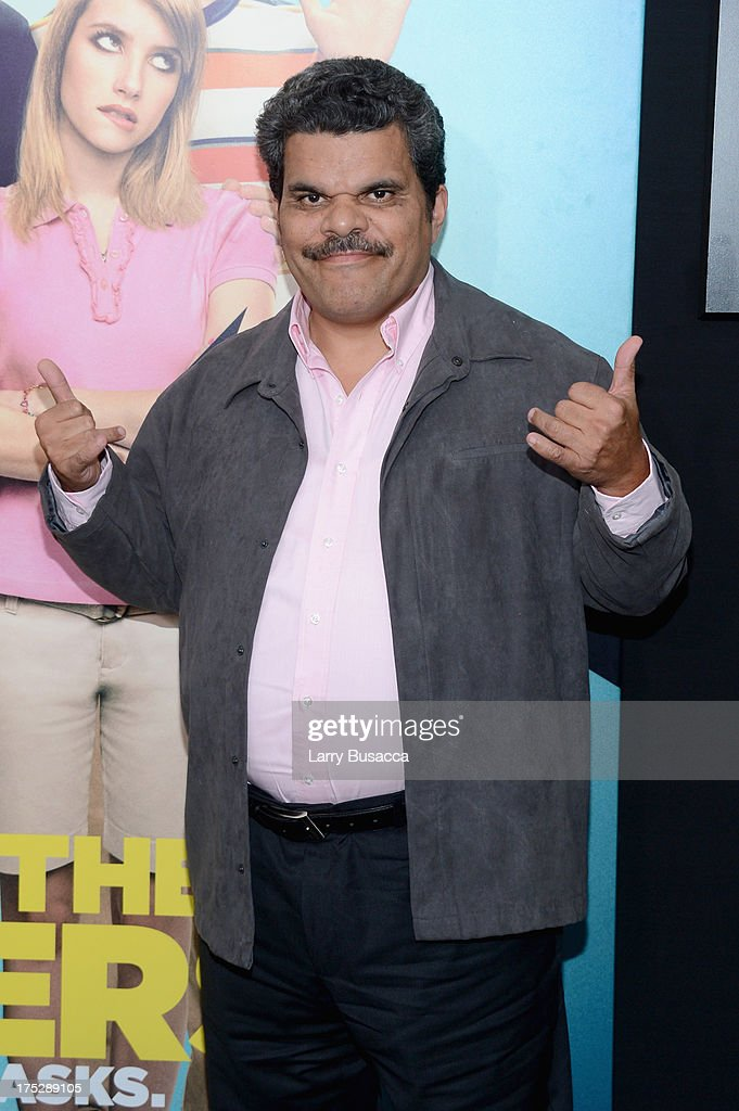 Actor Luiz Guzman attends the 'We're The Millers' New York Premiere at Ziegfeld Theater on August 1, 2013 in New York City.