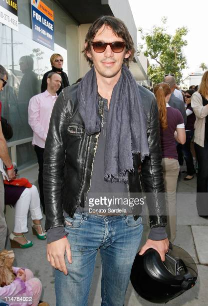 Actor Lukas Haas attends the 7th annual Stuart House Benefit held by John Varvatos and Converse at John Varvatos Boutique on March 8 2009 in Los...