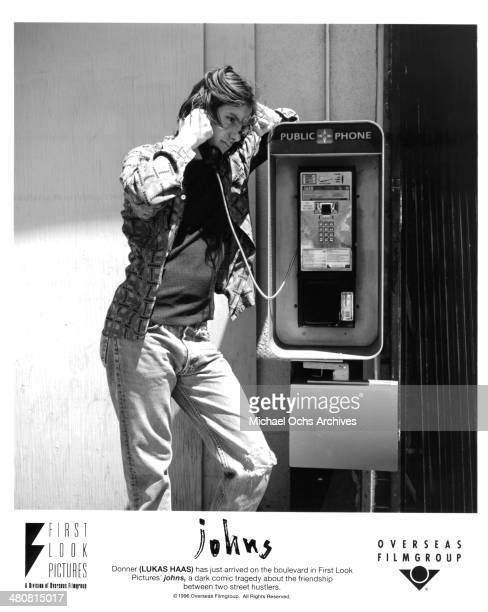 Actor Lukas Haas in a scene from the First Look Pictures movie 'Johns' circa 1996