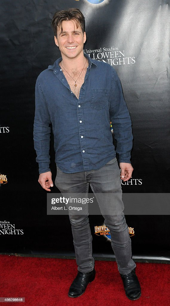 Actor Lukas Nelson arrives for Universal Studios Hollywood 'Halloween Horror Nights' Kick Off With The Annual 'Eyegore Awards' held at Universal...