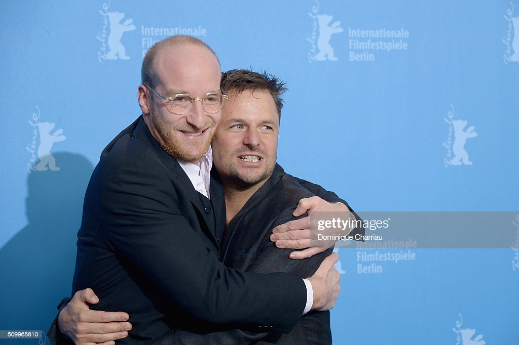 Actor Lukas Turtur and actor Philipp Hochmair attend the 'Tomcat' (Kater) photo call during the 66th Berlinale International Film Festival Berlin at Grand Hyatt Hotel on February 13, 2016 in Berlin, Germany.