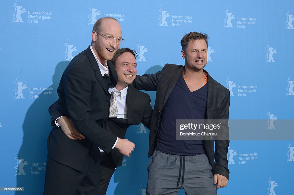 Actor Lukas Turtur, director Haendl Klaus and actor Philipp Hochmair attend the 'Tomcat' (Kater) photo call during the 66th Berlinale International Film Festival Berlin at Grand Hyatt Hotel on February 13, 2016 in Berlin, Germany.