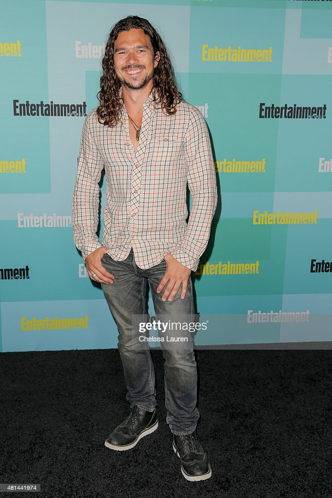 Actor <a gi-track='captionPersonalityLinkClicked' href=/galleries/search?phrase=Luke+Arnold&family=editorial&specificpeople=5991385 ng-click='$event.stopPropagation()'>Luke Arnold</a> arrives at the Entertainment Weekly celebration at Float at Hard Rock Hotel San Diego on July 11, 2015 in San Diego, California.