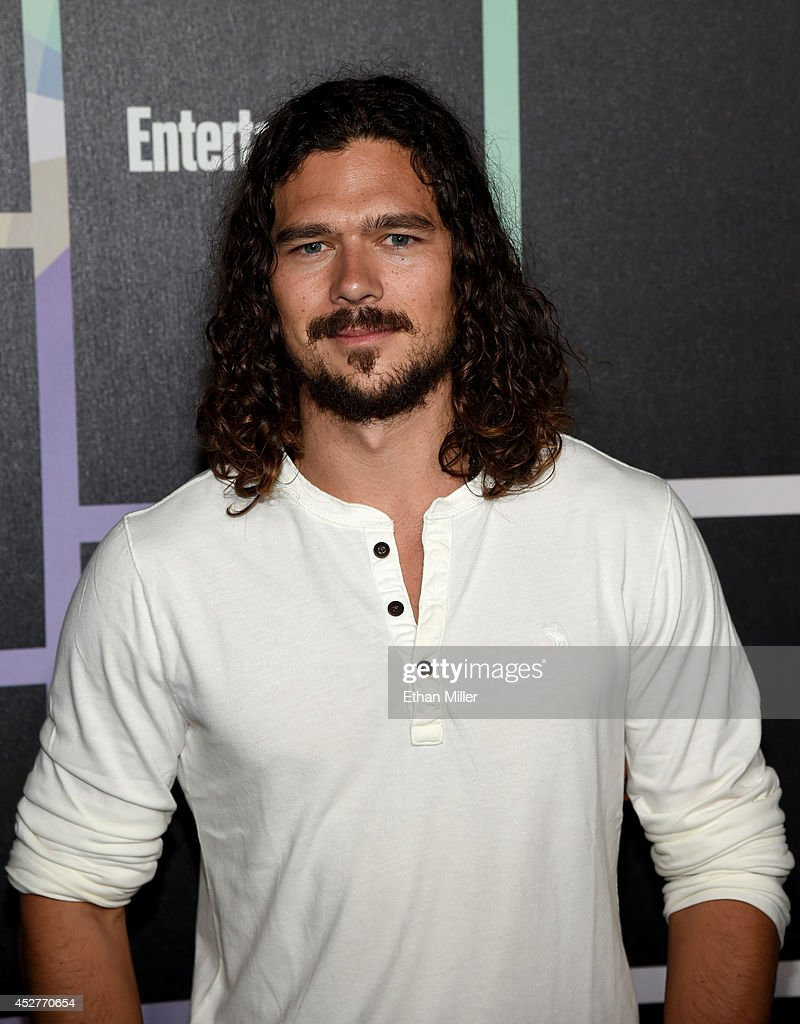 Actor <a gi-track='captionPersonalityLinkClicked' href=/galleries/search?phrase=Luke+Arnold&family=editorial&specificpeople=5991385 ng-click='$event.stopPropagation()'>Luke Arnold</a> attends Entertainment Weekly's annual Comic-Con celebration at Float at Hard Rock Hotel San Diego on July 26, 2014 in San Diego, California.