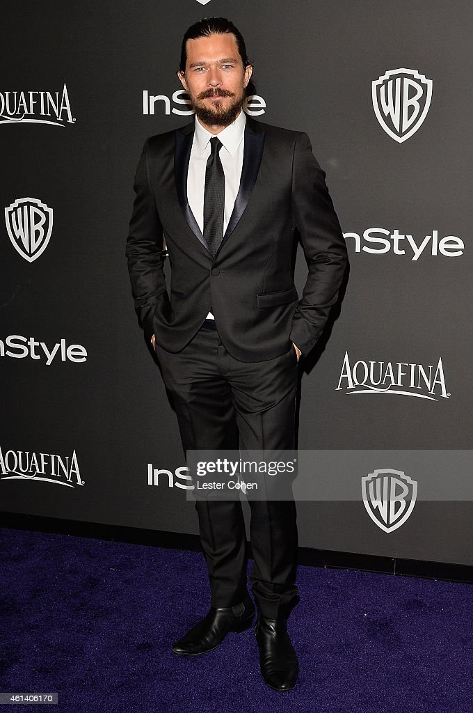 Actor <a gi-track='captionPersonalityLinkClicked' href=/galleries/search?phrase=Luke+Arnold&family=editorial&specificpeople=5991385 ng-click='$event.stopPropagation()'>Luke Arnold</a> attends the 16th Annual Warner Bros. and InStyle Post-Golden Globe Party at The Beverly Hilton Hotel on January 11, 2015 in Beverly Hills, California.