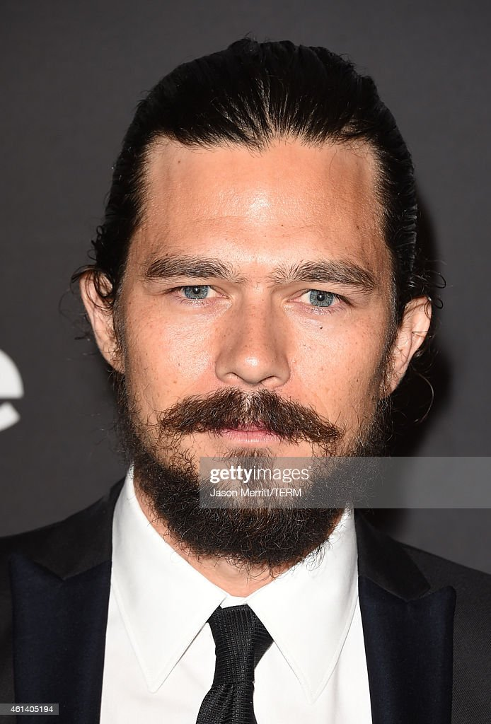 Actor <a gi-track='captionPersonalityLinkClicked' href=/galleries/search?phrase=Luke+Arnold&family=editorial&specificpeople=5991385 ng-click='$event.stopPropagation()'>Luke Arnold</a> attends the 2015 InStyle And Warner Bros. 72nd Annual Golden Globe Awards Post-Party at The Beverly Hilton Hotel on January 11, 2015 in Beverly Hills, California.