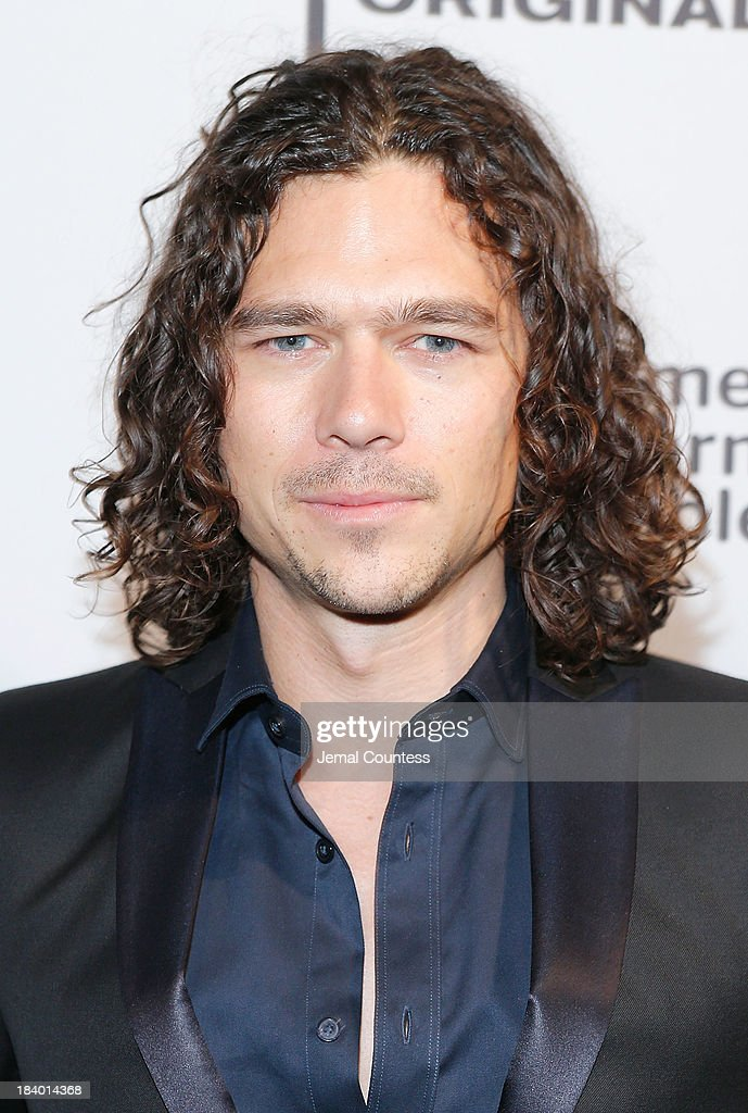 Actor Luke Arnold of the show 'Black Sails' attends the Starz Sleep No More Event at The McKittrick Hotel on October 10, 2013 in New York City.