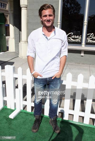 Actor Luke Benward attends Variety's Power of Youth presented by Hasbro Inc and generationOn at Universal Studios Backlot on July 27 2013 in...