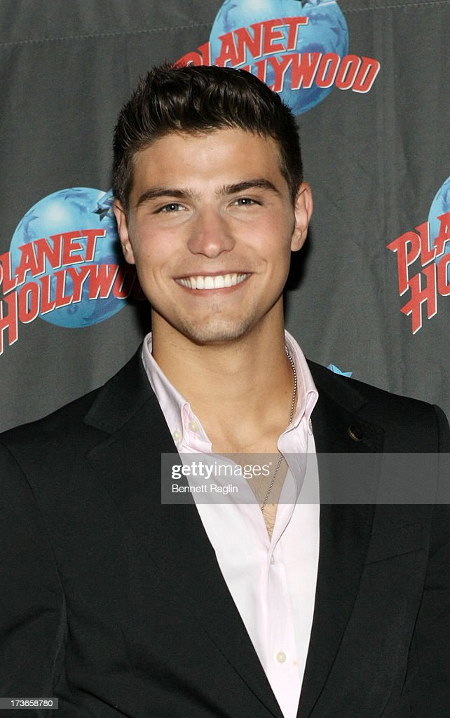 Actor Luke Bilyk visits Planet Hollywood at Planet Hollywood Times Square on July 16, 2013 in New York City.