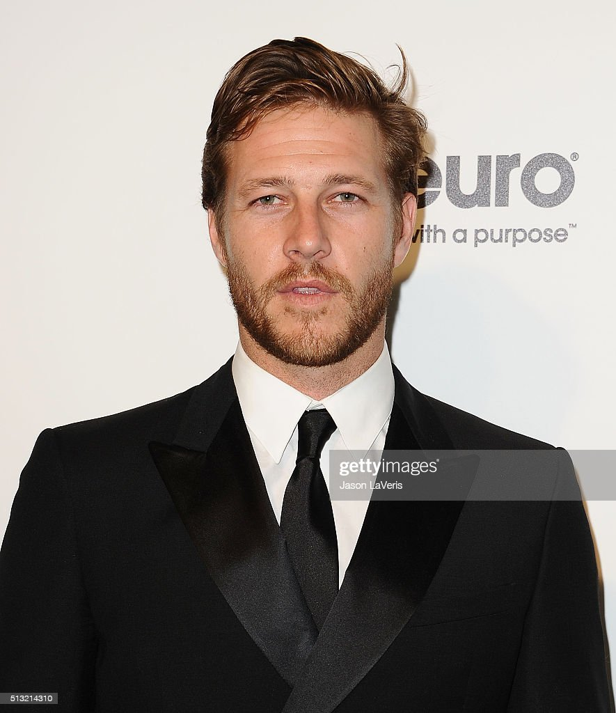 Actor Luke Bracey attends the 24th annual Elton John AIDS Foundation's Oscar viewing party on February 28 2016 in West Hollywood California