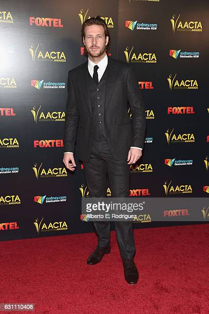 Actor Luke Bracey attends the 6th AACTA International Awards at Avalon Hollywood on January 6 2017 in Los Angeles California