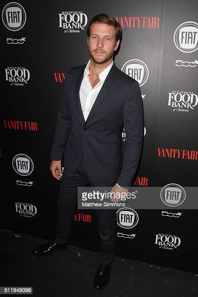 Actor Luke Bracey attends Vanity Fair and FIAT Toast To 'Young Hollywood' at Chateau Marmont on February 23 2016 in Los Angeles California