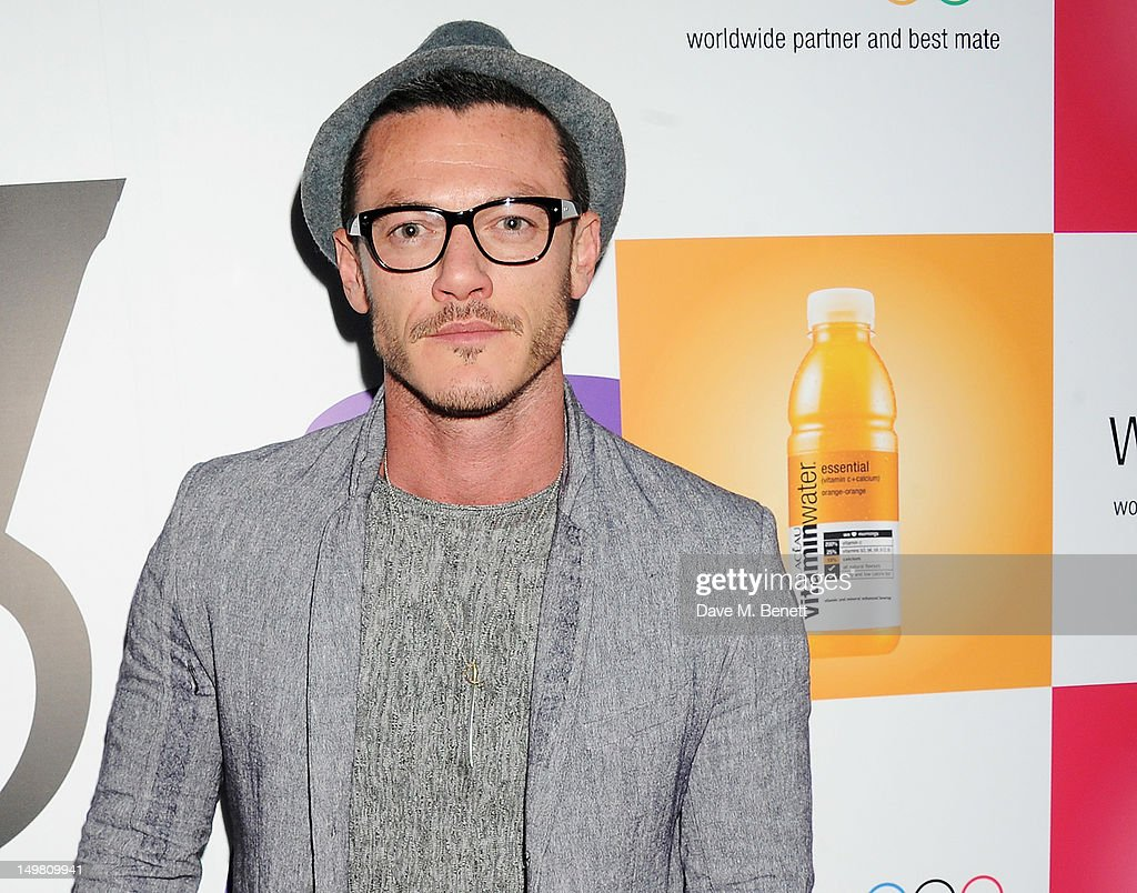 Actor Luke Evans arrives as Glaceau vitaminwater presents 'Jessie J Live In London' at The Roundhouse on August 4, 2012 in London, England.