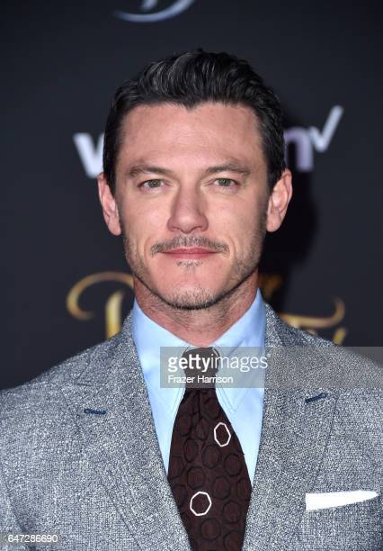 Actor Luke Evans attends Disney's 'Beauty and the Beast' premiere at El Capitan Theatre on March 2 2017 in Los Angeles California