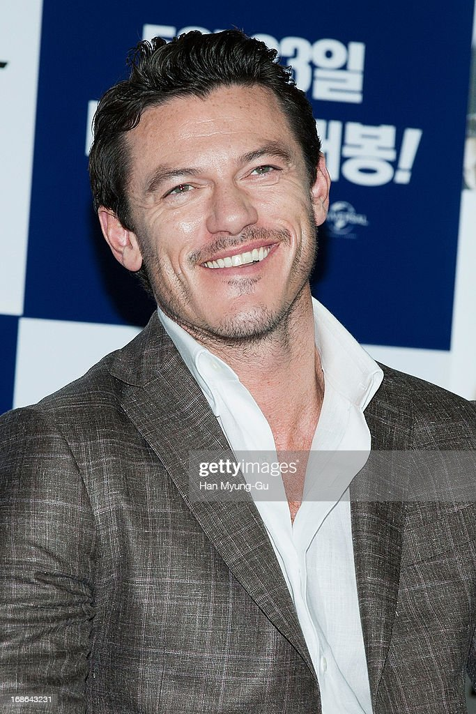 Actor Luke Evans attends the 'Fast & Furious 6' press conference on May 13, 2013 in Seoul, South Korea.