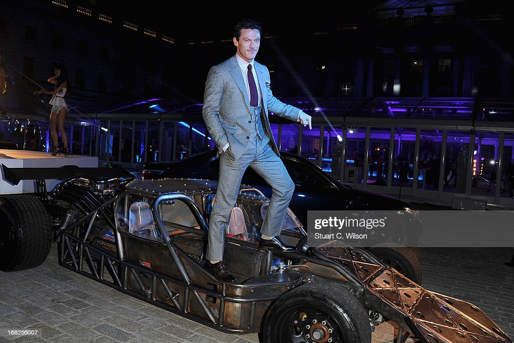 Actor Luke Evans attends the 'Fast & Furious 6' World Premiere after party at Somerset House on May 7, 2013 in London, England.