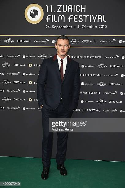 Actor Luke Evans attends the 'HighRise' Premiere during the Zurich Film Festival on September 25 2015 in Zurich Switzerland The 11th Zurich Film...