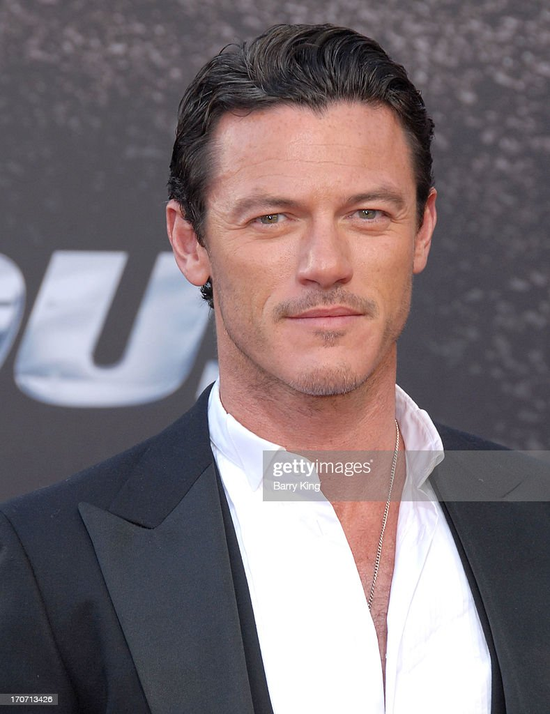 Actor Luke Evans attends the premiere of 'Fast & Furious 6' at Universal CityWalk on May 21, 2013 in Universal City, California.