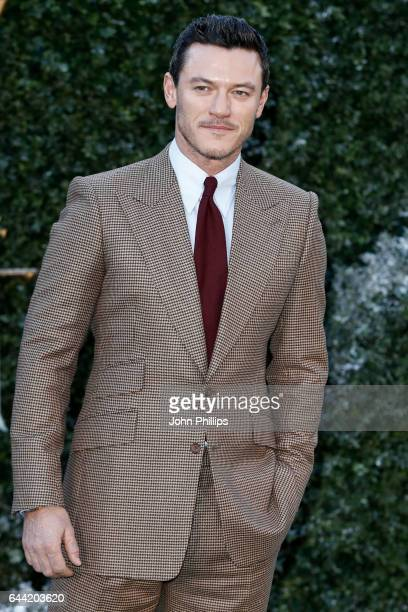 Actor Luke Evans attends UK launch event for 'Beauty And The Beast' at Spencer House on February 23 2017 in London England