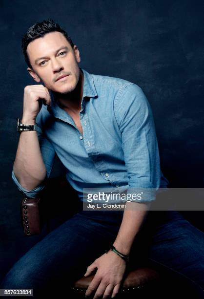 Actor Luke Evans from the film 'Professor Marston The Wonder Women' poses for a portrait at the 2017 Toronto International Film Festival for Los...