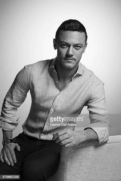 Actor Luke Evans is photographed for Vanity Faircom on April 19 2016 in New York City