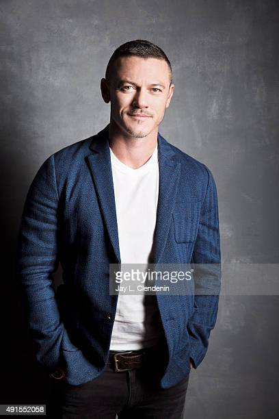 Actor Luke Evans of the film 'HighRise' is photographed for Los Angeles Times on September 25 2015 in Toronto Ontario PUBLISHED IMAGE CREDIT MUST...