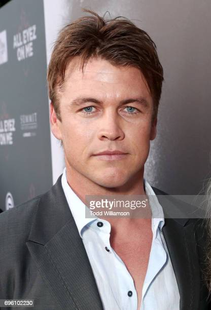 Actor Luke Hemsworth at the 'ALL EYEZ ON ME' Premiere at Westwood Village Theatre on June 14 2017 in Westwood California