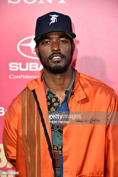 Actor Luke James arrives at the Premiere of Sony Pictures' 'Baby Driver' at Ace Hotel on June 14 2017 in Los Angeles California