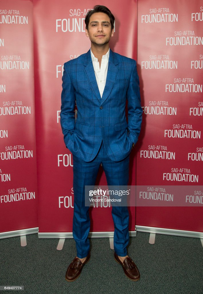 Actor Luke Pasqualino attends SAG-AFTRA Foundation's Conversations with 'Snatch' at SAG-AFTRA Foundation Screening Room on March 7, 2017 in Los Angeles, California.