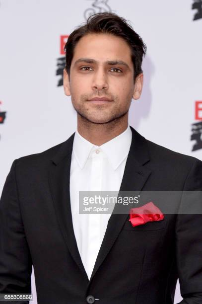 Actor Luke Pasqualino attends the THREE Empire awards at The Roundhouse on March 19 2017 in London England