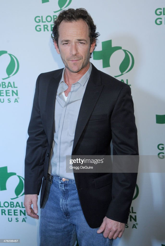 Actor <a gi-track='captionPersonalityLinkClicked' href=/galleries/search?phrase=Luke+Perry&family=editorial&specificpeople=171633 ng-click='$event.stopPropagation()'>Luke Perry</a> arrives at the Global Green USA's 11th Annual Pre-Oscar Party at Avalon on February 26, 2014 in Hollywood, California.