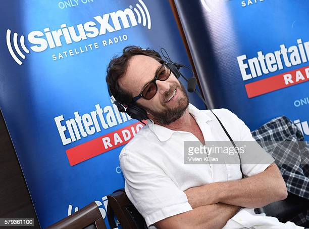 Actor Luke Perry attends SiriusXM's Entertainment Weekly Radio Channel Broadcasts From ComicCon 2016 at Hard Rock Hotel San Diego on July 22 2016 in...