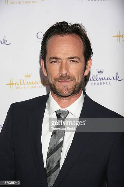 Actor Luke Perry attends the 2012 TCA winter press tour Hallmark evening gala held at the Tournament House on January 14 2012 in Pasadena California