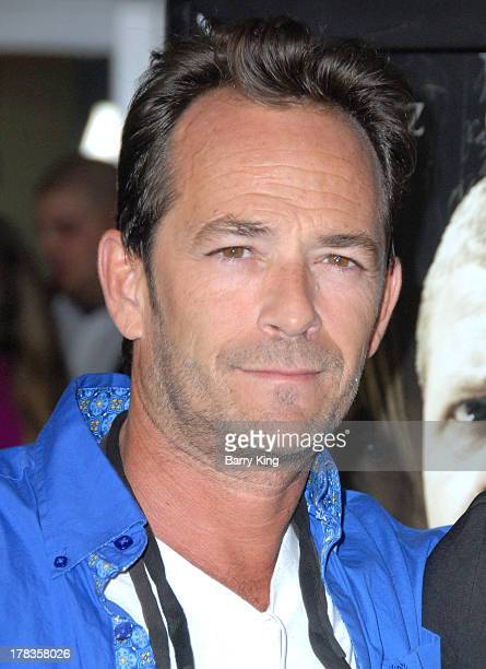 Actor Luke Perry attends the premiere of 'Dark Tourist' at ArcLight Hollywood on August 14 2013 in Hollywood California