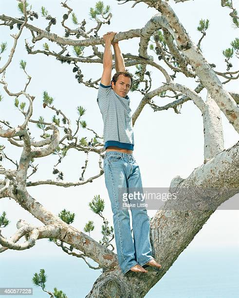 Actor Luke Perry is photographed for Parade Magazine on May 1 2006 in Malibu California