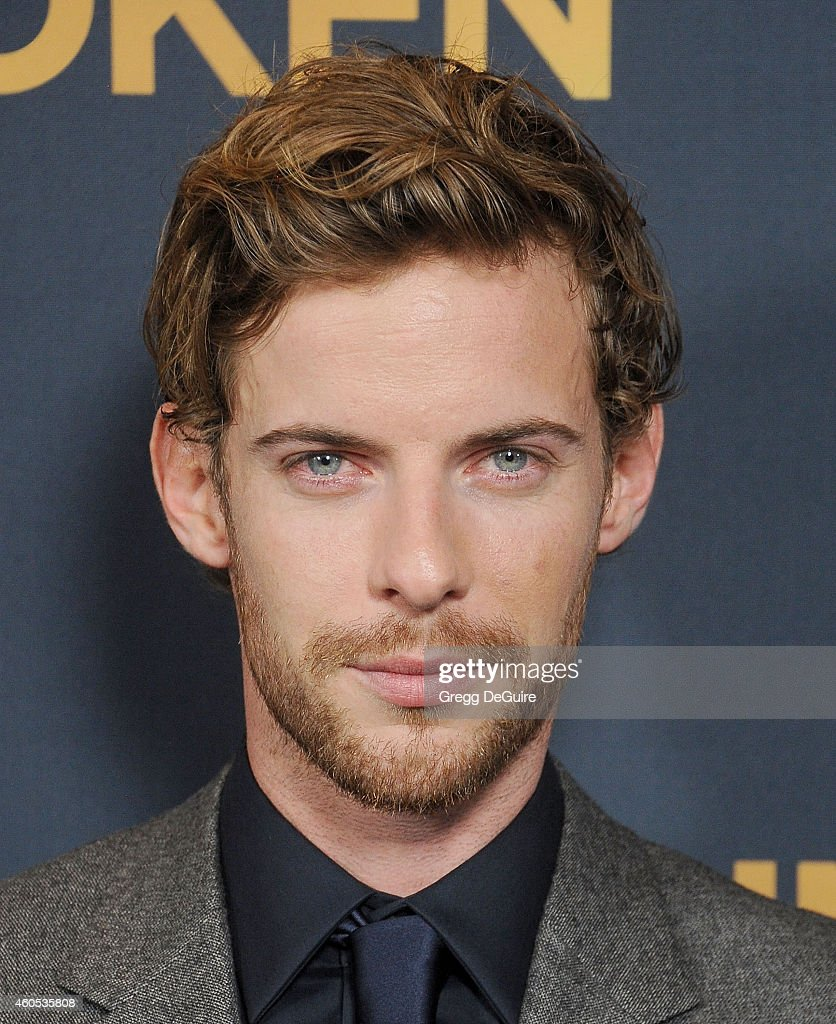 Actor Luke Treadaway arrives at the Los Angeles premiere of 'Unbroken' at The Dolby Theatre on December 15 2014 in Hollywood California