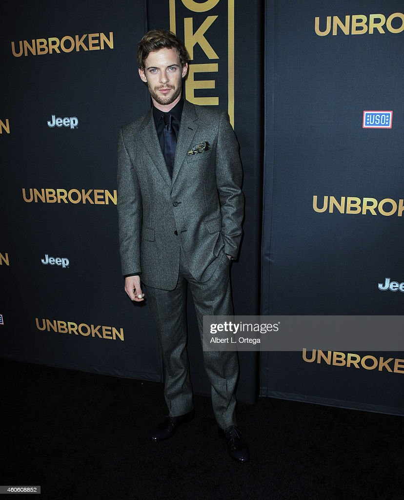 Actor Luke Treadaway arrives for the Premiere Of Universal Studios' 'Unbroken' held at The Dolby Theatre on December 15 2014 in Hollywood California