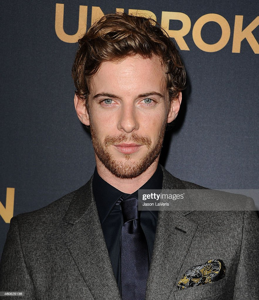Actor Luke Treadaway attends the premiere of 'Unbroken' at TCL Chinese Theatre IMAX on December 15 2014 in Hollywood California