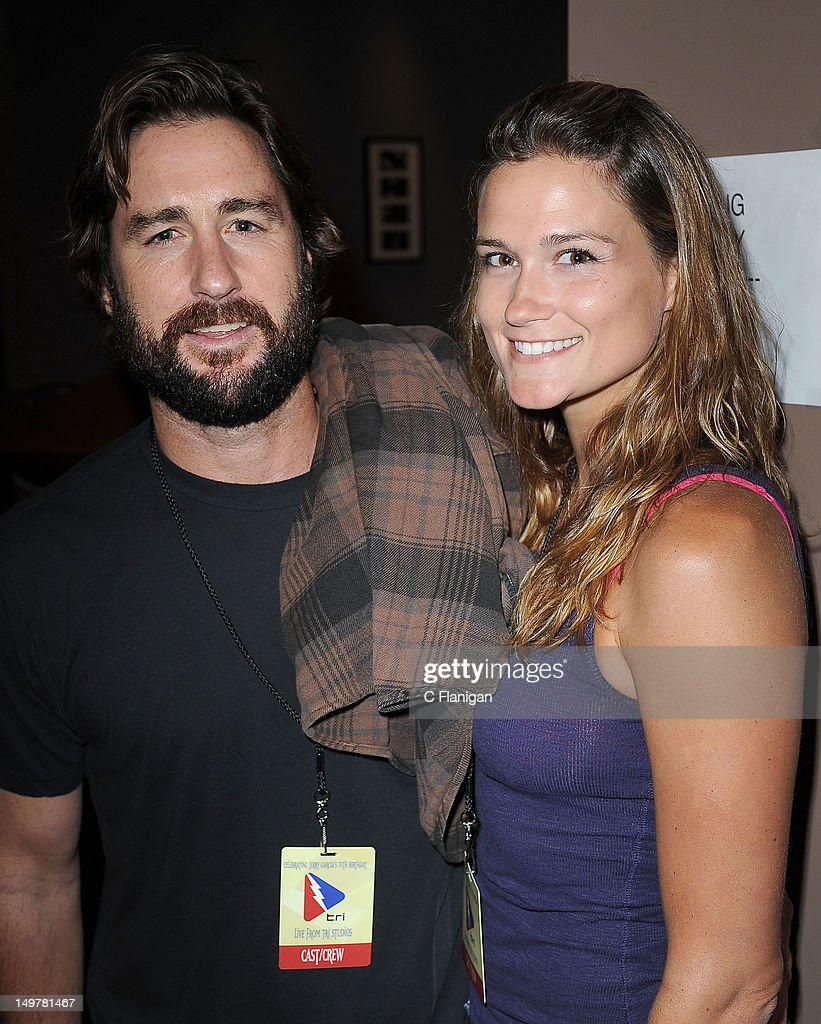 Actor Luke Wilson and girlfriend Meg Simpson attend the 'Move Me Brightly' 70th Birthday Tribute for Jerry Garcia at TRI Studios on August 3, 2012 in San Rafael, California.